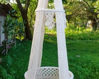 Vase Macrame (plant hanger)