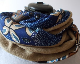 Loop floral blue