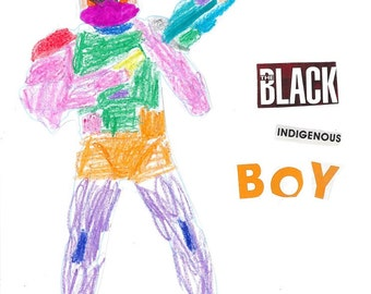 Black Indigenous Boy Issue 1
