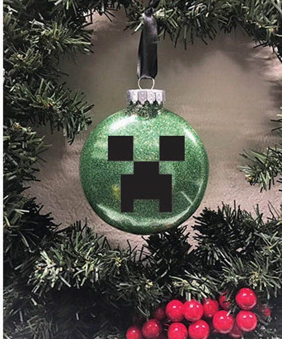 Creeper Minecraft Ornament