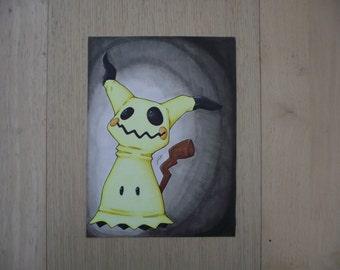 "Shop ""mimikyu"" in Drawing & Illustration"