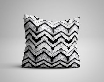 Chevron Cushion.