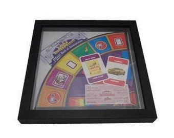Logo Board Game Framed Upcycled Art - Jelly Tots