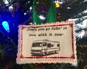 Cousin Eddie RV Fabric Ornament
