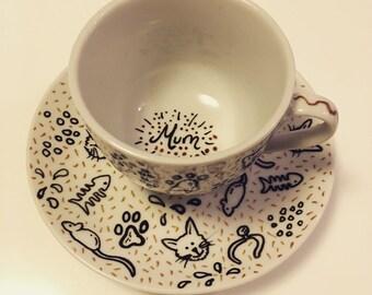 Mum Tea Cup set
