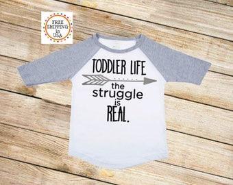 Toddler Shirt, Toddler Life, Toddler Life Tee, Funny Toddler Shirt, Raglan Tee, Toddler TShirt, Graphic Tee
