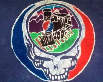 Steal your face train batik Grateful Dead