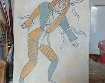 Fresco jester