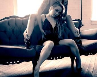 art Erotic print boudoir