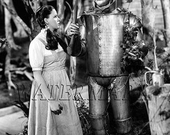 Wizard of Oz - Oz - Judy Garland - Wizard of Oz Poster - Wall Art - Movie Print - Movie Art - Movie Lover - 12x18 - 24x36 (JS1303)