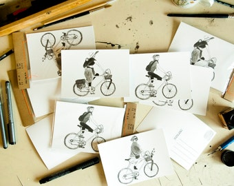 Postcards Story Of My Bike, 3-pack