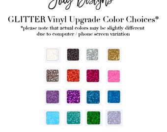 GLITTER Upgrade, glitter, pink, blue, white, black, silver, gold, confetti, lavender, purple, aqua, jade, green