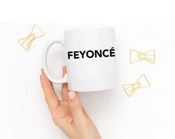 Feyoncé Coffee Mug, Engagement Coffee Mug, Engagement Coffee Cup, Engagement Mug, Ring Coffee Mug, Engagement Ring Mug, Feyonce Mug, Engaged