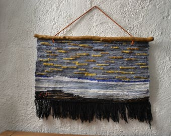 Wall weaving - decorative Panel
