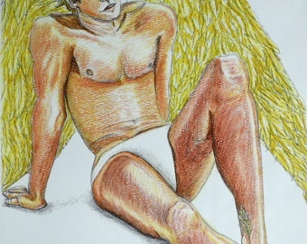 Reclining Angel