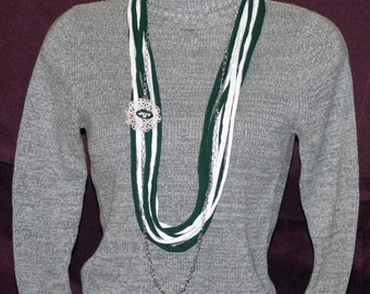 New York Jets T-Shirt Necklace