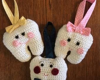 Children's Tooth Fairy Pillow Door Hanger