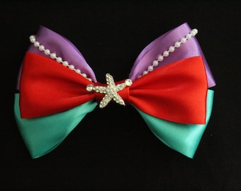Little Mermaid Collection - Ariel inspired hair bow