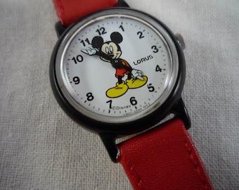 Lorus Mickey Mouse Kids Watch