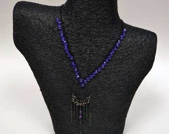 Swarovski Lavender Necklace