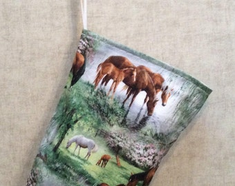 Horses at the Pond Litter Bag