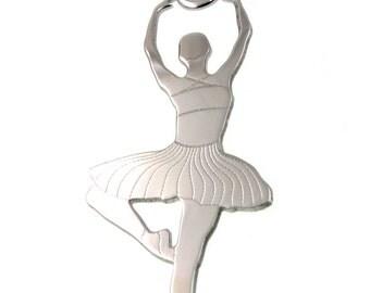 Fashion 925 Silver Pendant Dance BALLERINA pendant gift idea