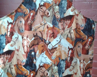 Horse Apron -  Handmade