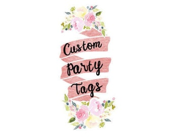 Custom Party Tags