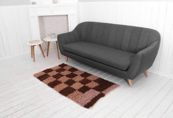 Living Room Carpet Area Rug Wool Handmade Nursery Runner