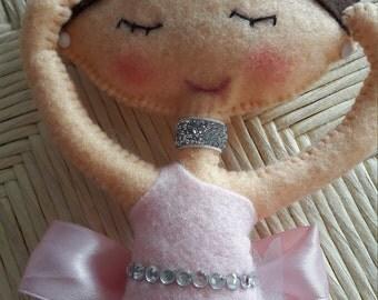 """The Impresario Collection Ballerina Doll """"Daphne"""""""