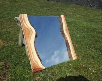 Aromatic Cedar Live Edge Mirror