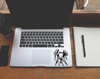 Horoscope Gemini decal sticker for Laptop, Phone, Macbook, Wall art, Car, Mirror, Window, Door  #158