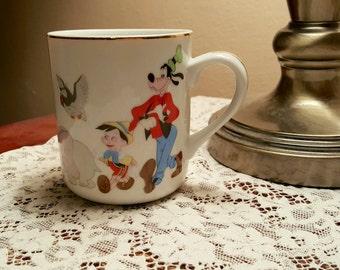 Vintage Walt Disney Coffee Mug