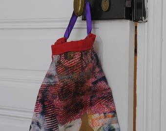 Bag tissue recovery silkscreen / Silkscreened bag