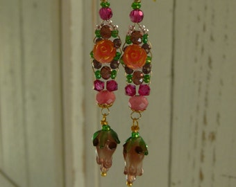 Rosa Romantica Earrings 12
