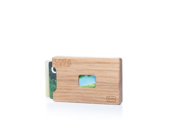 Wood Wallet-Wooden Card Holder-Wood Credit Card Holder- Gift Ideas-Gift-Handmade Wooden Wallet