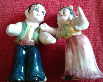 Cute Couple Salt and Pepper Collectibles