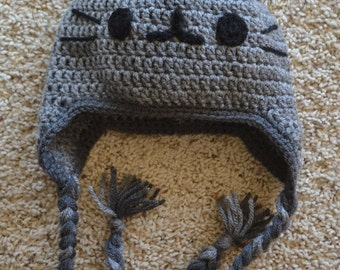 Pusheen Inspired Hat