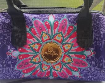 Comeflor Handbag Purple Mandala Design