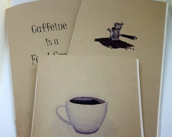 Coffee-themed Travelers Notebook Set