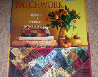 CREATIVE PATCHWORK with Applique and Quilting - Women's Weekly craft library Magazine