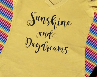 Sunshine and Daydreams Tee - Summertime - Summer Lovin'