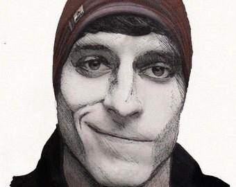 Markiplier's friend Tyler (Tyler Scheid) Realism Drawing