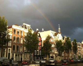 Rainbow in Amsterdam