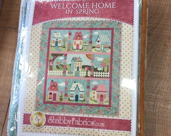 Welcome Home In Spring Block of the Month Kit