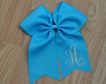 Personalized Bows/Initial Hairbows (7.5 inches)