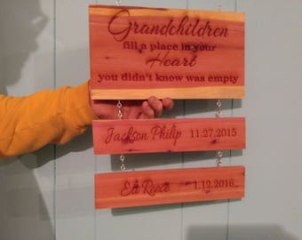 Personalized Grandparents Plaque
