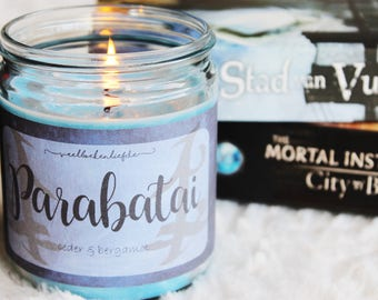 Parabatai | The Mortal Instruments | Bookish soy wax candle