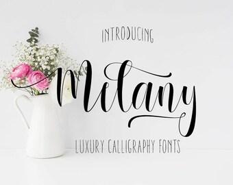 Digital font, Calligraphy font, Font download, Script font, Wedding font, Handwritten font, Brush font, Watercolor font. Instant download