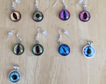 Eye Earrings and Pendants